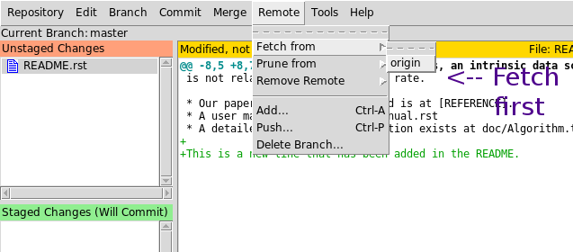 Git GUIs and practical usage
